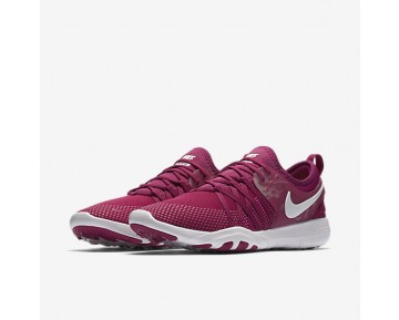 Chaussure Nike Free Tr7 Pour Femme Fitness Et Training Fuchsia Sport/Blanc_NO. 904651-601