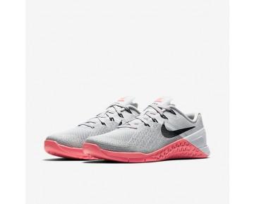 Chaussure Nike Metcon 3 Pour Femme Fitness Et Training Gris Loup/Rose Coureur/Platine Pur/Noir_NO. 849807-008