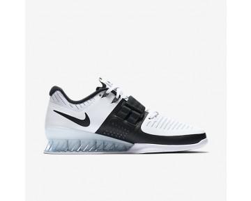 Chaussure Nike Romaleos 3 Pour Femme Fitness Et Training Blanc/Noir_NO. 878557-100