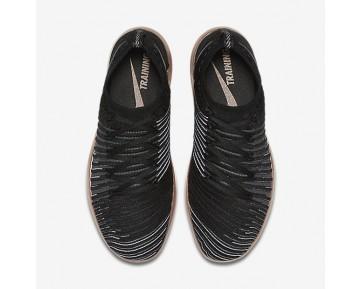 Chaussure Nike Free Transform Flyknit Pour Femme Fitness Et Training Noir/Bronze Rouge Métallique/Blanc Sommet/Gris Froid_NO. 833410-005