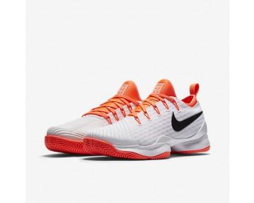 Chaussure Nike Court Air Zoom Ultra React Pour Femme Tennis Blanc/Hyper Orange/Noir_NO. 859718-100