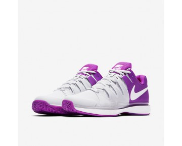 Chaussure Nike Court Zoom Vapor 9.5 Tour Pour Femme Tennis Platine Pur/Mauve Vif/Blanc/Blanc_NO. 631475-003