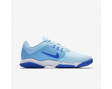 Chaussure Nike Court Air Zoom Ultra Clay Pour Femme Tennis Bleu Glacé/Bleu Université/Blanc/Bleu Comète_NO. 845047-401