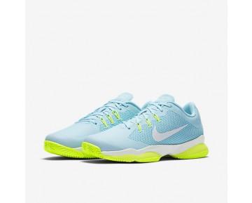 Chaussure Nike Court Air Zoom Ultra Clay Pour Femme Tennis Bleu Calme/Bleu Polarisé/Volt/Blanc_NO. 845047-400