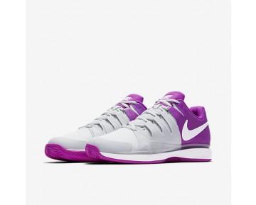 Chaussure Nike Court Zoom Vapor 9.5 Tour Clay Pour Femme Tennis Platine Pur/Mauve Vif/Blanc/Blanc_NO. 649087-001