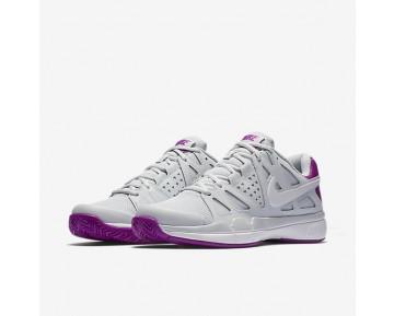 Chaussure Nike Court Air Vapor Advantage Pour Femme Tennis Platine Pur/Mauve Vif/Blanc/Blanc_NO. 599364-001