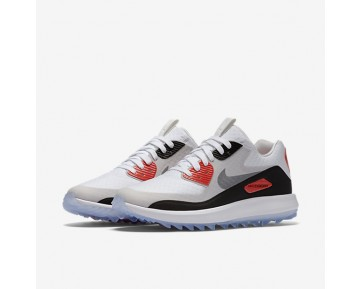 Chaussure Nike Air Zoom 90 It Pour Femme Golf Blanc/Gris Neutre/Noir/Gris Froid_NO. 844648-100