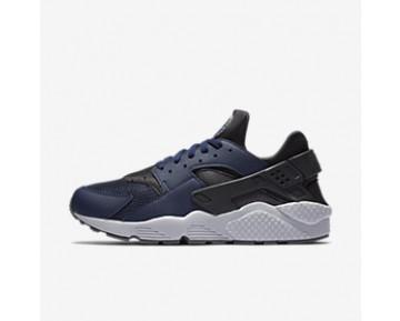 Chaussure Nike Air Huarache Pour Homme Lifestyle Bleu Nuit Marine/Cendré Foncé/Gris Froid/Bleu Nuit Marine_NO. 318429-409