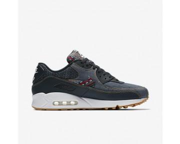 Chaussure Nike Air Max 90 Premium Pour Homme Lifestyle Obsidienne Foncée/Blanc Sommet/Gomme Marron Clair/Obsidienne Foncée_NO. 700155-402