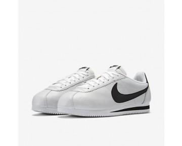 Chaussure Nike Classic Cortez Premium Pour Homme Lifestyle Blanc/Noir_NO. 807480-101