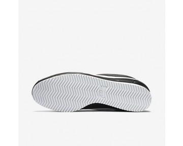Chaussure Nike Classic Cortez Premium Pour Homme Lifestyle Noir/Gris Neutre/Blanc_NO. 807480-010
