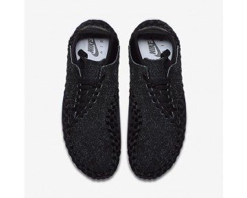 Chaussure Nike Air Footscape Woven Chukka Qs Pour Homme Lifestyle Anthracite/Blanc/Noir/Noir_NO. 913929-001
