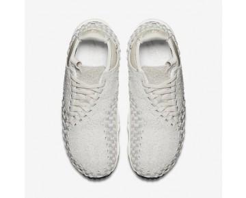 Chaussure Nike Air Footscape Woven Chukka Qs Pour Homme Lifestyle Beige Clair/Blanc Sommet/Beige Clair_NO. 913929-002