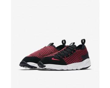 Chaussure Nike Air Footscape Nm Jacquard Pour Homme Lifestyle Rouge Université/Noir/Blanc/Rouge Université_NO. 898007-600