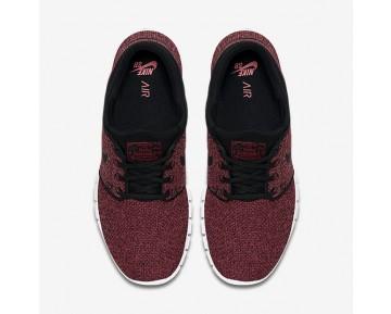 Chaussure Nike Sb Stefan Janoski Max Pour Homme Lifestyle Rouge Piste/Cèdre/Mandarine Brillant/Noir_NO. 631303-606