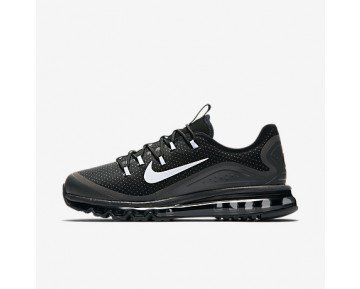 Chaussure Nike Air Max More Pour Homme Lifestyle Noir/Gris Loup/Anthracite/Blanc_NO. 898013-001