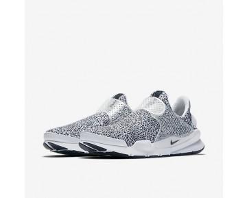 Chaussure Nike Sock Dart Qs Pour Homme Lifestyle Blanc/Noir_NO. 942198-100