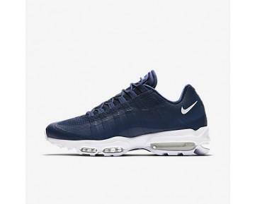 Chaussure Nike Air Max 95 Ultra Essential Pour Homme Lifestyle Bleu Binaire/Blanc/Blanc_NO. 857910-401