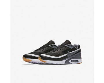 Chaussure Nike Air Max Bw Ultra Pour Homme Lifestyle Noir/Blanc/Jaune Gomme/Gris Froid_NO. 819475-008