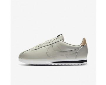 Chaussure Nike Classic Cortez Leather Se Pour Homme Lifestyle Gris Pâle/Noir/Brun Vachette/Gris Pâle_NO. 861535-005