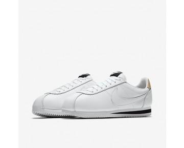 Chaussure Nike Classic Cortez Leather Se Pour Homme Lifestyle Blanc/Noir/Brun Vachette/Blanc_NO. 861535-101