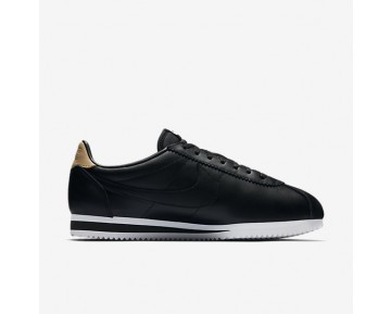 Chaussure Nike Classic Cortez Leather Se Pour Homme Lifestyle Noir/Blanc/Brun Vachette/Noir_NO. 861535-004