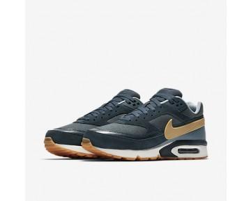 Chaussure Nike Air Max Bw Premium Pour Homme Lifestyle Marine Arsenal/Renard Bleu/Bleu-Gris/Jaune Gomme_NO. 819523-401