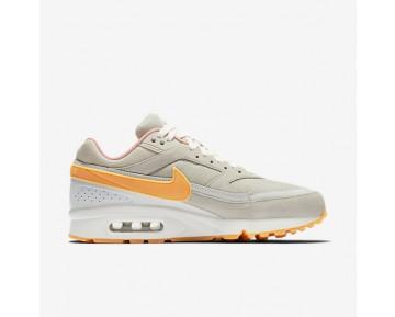 Chaussure Nike Air Max Bw Premium Pour Homme Lifestyle Phantom/Beige Clair/Orange Arctique/Jaune Gomme_NO. 819523-002