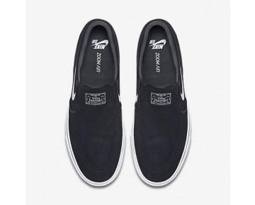 Chaussure Nike Sb Zoom Stefan Janoski Slip-On Pour Homme Lifestyle Noir/Blanc_NO. 833564-001