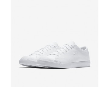 Chaussure Nike All Court 2 Low Canvas Pour Homme Lifestyle Blanc/Blanc_NO. 898040-100