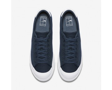 Chaussure Nike All Court 2 Low Canvas Pour Homme Lifestyle Marine Arsenal/Blanc/Marine Arsenal_NO. 898040-400