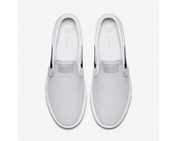 Chaussure Nike Sb Zoom Stefan Janoski Slip-On Canvas Pour Homme Lifestyle Gris Loup/Platine Pur/Noir_NO. 831749-004
