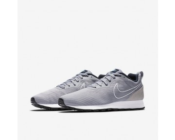 Chaussure Nike Md Runner 2 Breathe Pour Homme Lifestyle Gris Loup/Marine Arsenal/Bleu Calme/Gris Loup_NO. 902815-001