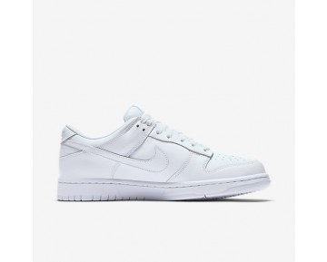 Chaussure Nike Dunk Low Pour Homme Lifestyle Blanc/Blanc/Blanc_NO. 904234-100