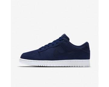 Chaussure Nike Dunk Retro Low Pour Homme Lifestyle Bleu Binaire/Blanc/Bleu Binaire_NO. 896176-400