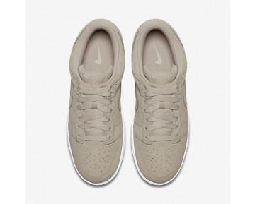 Chaussure Nike Dunk Retro Low Pour Homme Lifestyle Gris Pâle/Blanc/Gris Pâle_NO. 896176-004