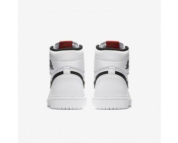 Chaussure Nike Jordan 1 Retro High Og Pour Homme Lifestyle Blanc/Blanc/Noir_NO. 555088-102