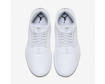 Chaussure Nike Jordan Eclipse Chukka Pour Homme Lifestyle Blanc/Platine Pur/Noir_NO. 881453-100