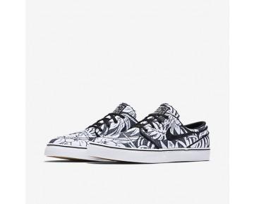 Chaussure Nike Sb Zoom Stefan Janoski Canvas Premium Pour Homme Lifestyle Noir/Blanc/Gomme Marron Clair/Noir_NO. 705190-009