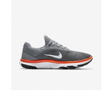 Chaussure Nike Free Trainer V7 Pour Homme Lifestyle Gris Froid/Noir/Blanc/Cramoisi Ultime_NO. 898053-001
