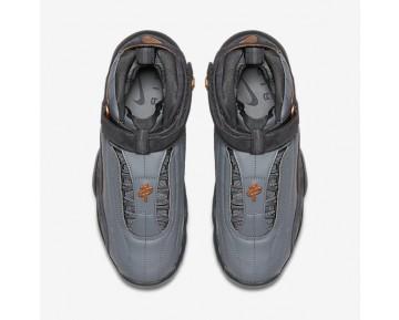 Chaussure Nike Air Penny Iv Pour Homme Lifestyle Gris Loup/Anthracite/Pièce De Cuivre Métallique_NO. 864018-002
