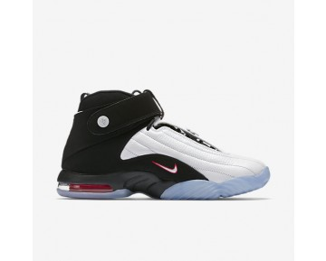 Chaussure Nike Air Penny Iv Pour Homme Lifestyle Blanc/Rouge Pur/Noir_NO. 864018-101
