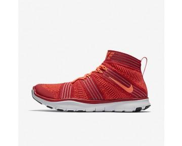 Chaussure Nike Free Train Virtue Pour Homme Lifestyle Rouge Université/Cramoisi Brillant/Platine Pur/Hyper Orange_NO. 898052-600