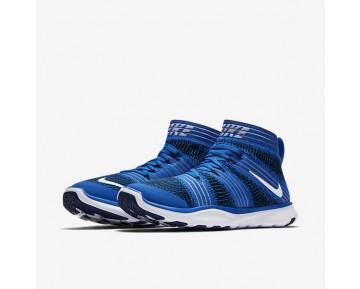 Chaussure Nike Free Train Virtue Pour Homme Lifestyle Hyper Cobalt/Bleu Binaire/Blanc_NO. 898052-400