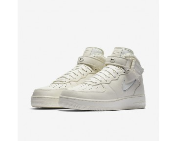 Chaussure Nike Lab Air Force 1 Mid Jewel Pour Homme Lifestyle Voile/Voile/Voile_NO. 941913-100