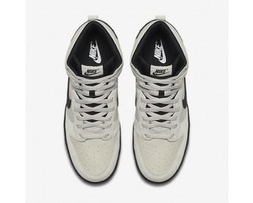 Chaussure Nike Dunk High Pour Homme Lifestyle Beige Clair/Noir_NO. 904233-002