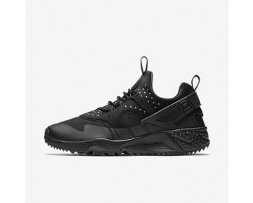 Chaussure Nike Air Huarache Utility Pour Homme Lifestyle Noir/Noir/Noir_NO. 806807-004