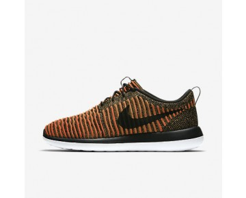 Chaussure Nike Roshe Two Flyknit Pour Homme Lifestyle Noir/Blanc/Orange Max/Noir_NO. 844833-009