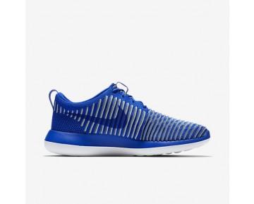 Chaussure Nike Roshe Two Flyknit Pour Homme Lifestyle Bleu Coureur/Brouillard D'Océan/Bleu-Gris/Bleu Coureur_NO. 844833-401