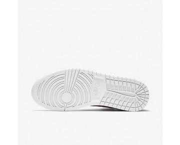 Chaussure Nike Jordan 1 Flight 4 Pour Homme Lifestyle Bordeaux Nuit/Platine Pur_NO. 820135-600